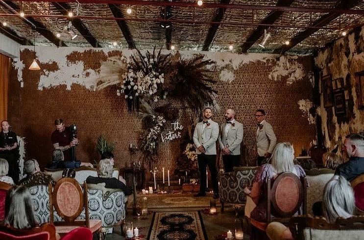 mobile barber shop depot wedding